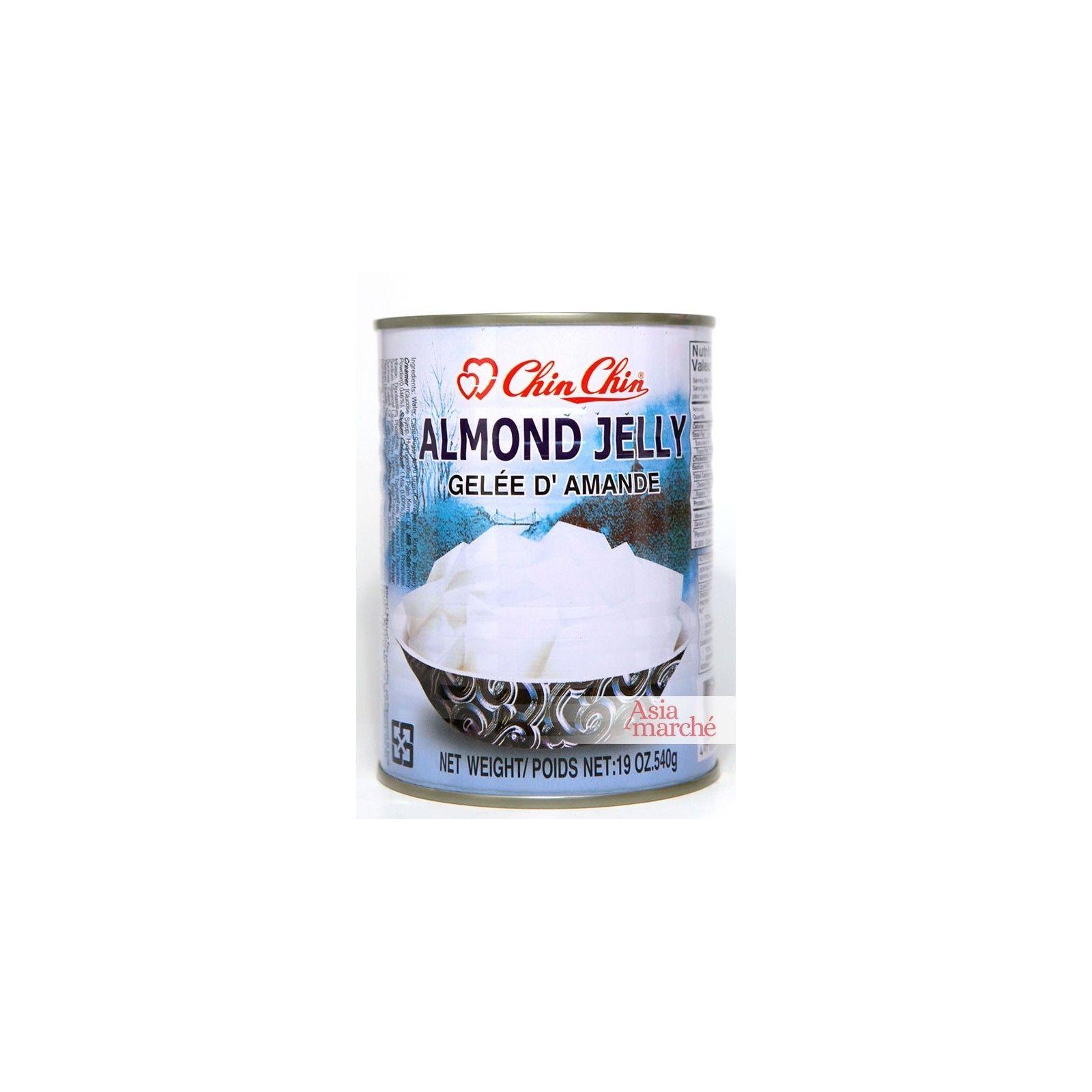 Asia Marché Tofu d'amandes ou Gelée d'amandes 540g ChinChin