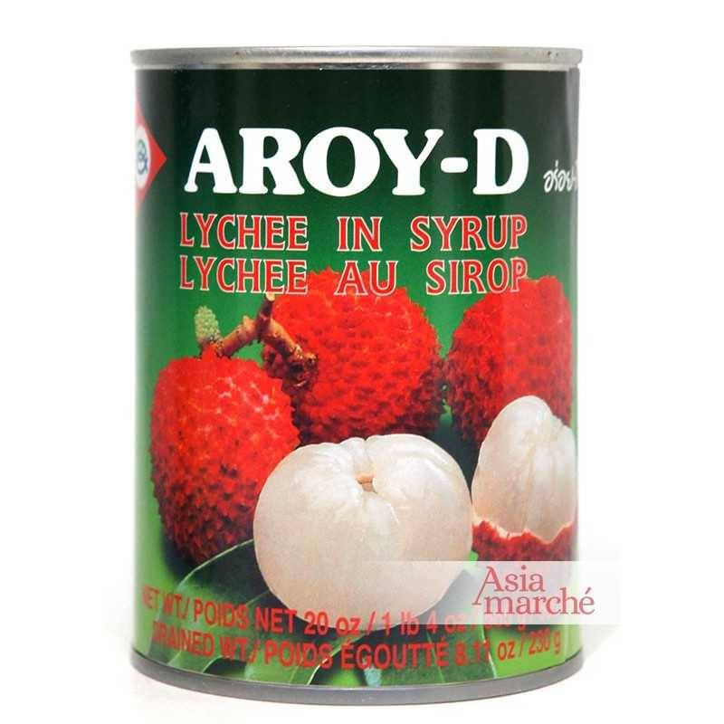 Asia Marché Lychee au sirop 565g Aroy-D