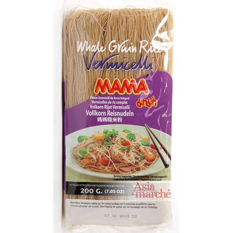 Asia Marché Vermicelles de riz complet 200g Mama