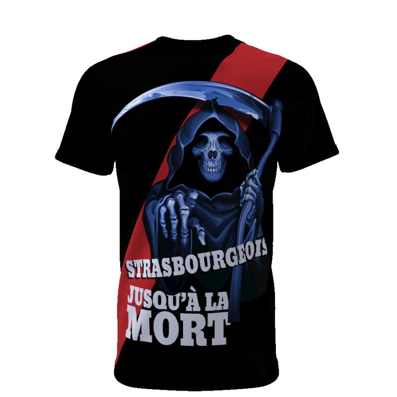 Tribune FC Strasbourgeois jusqu\'à la mort - Supporters Strasbourg - Tribune FC