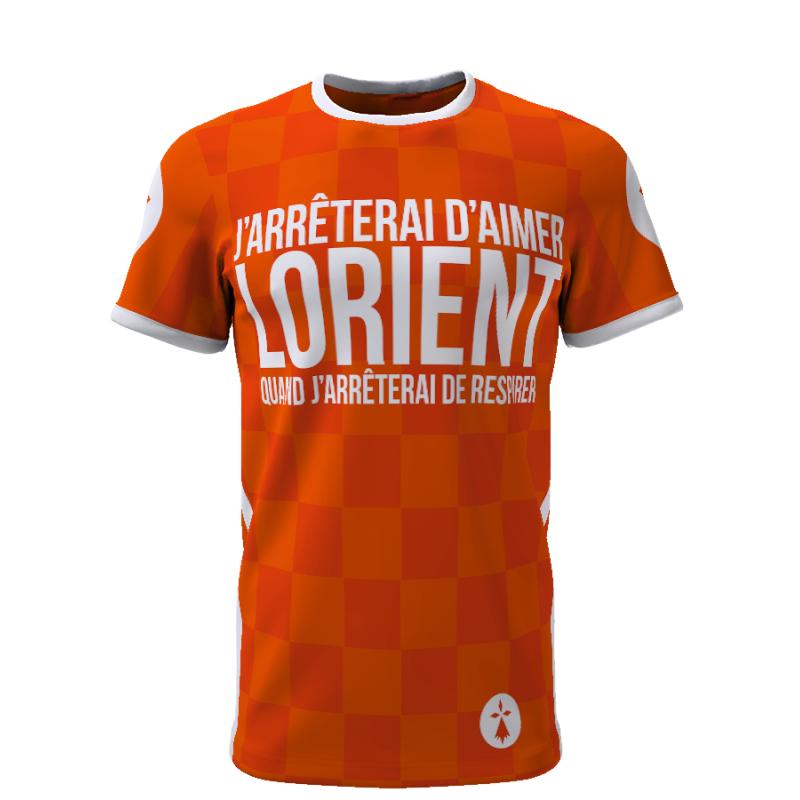 Tribune FC J\'arrêterai d\'aimer Lorient quand j\'arrêterai de respirer - Supporters Lorient - Tribune FC
