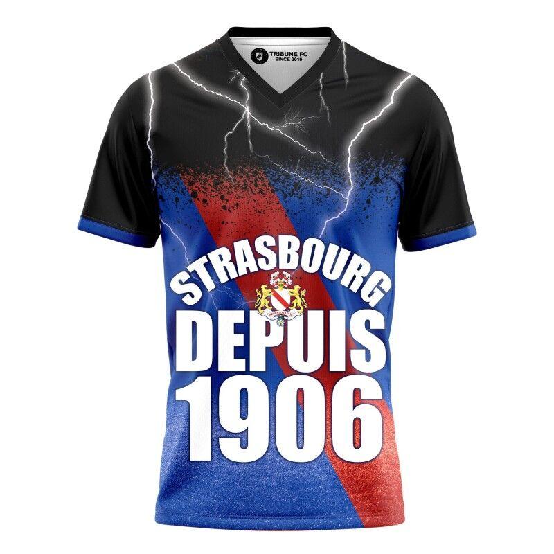 Tribune FC T-shirt Strasbourg depuis 1906 - Supporters Strasbourg - Tribune FC