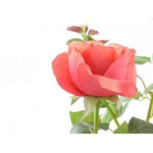 aniba Design Rose artificielle avec 2 fleurs et 1 bourgeon - Publicité