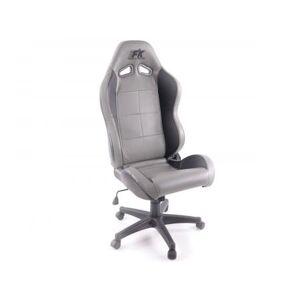 FK-Automotive Chaise de bureau Pro Sport gris/noir - Publicité