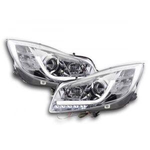 FK-Automotive feux de jour phare avant lumiere du jour Opel Insignia année 08-13 chrome - Publicité