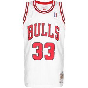 Mitchell & Ness Swingman Chicago Bulls Scottie Pippen, taille M, homme, blanc - Publicité