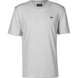 Lacoste Basic Sport Round Neck, taille XL, homme, gris chiné - Publicité