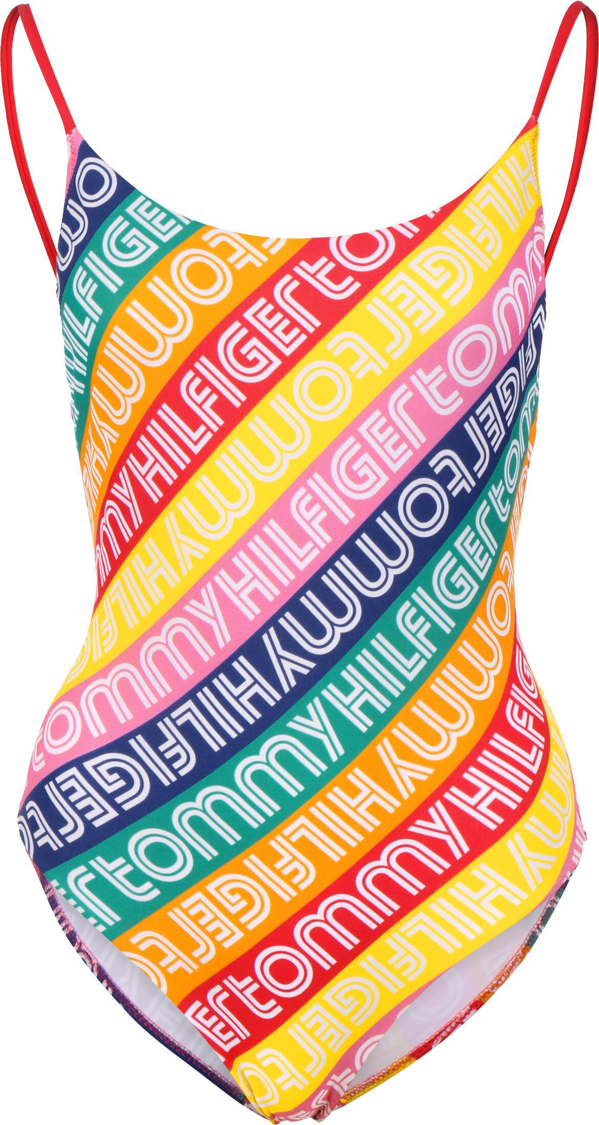 Tommy Hilfiger maillot de bain, M, femme multi-couleur rayé