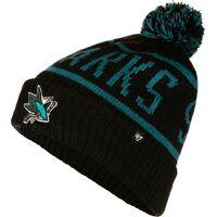 47 Brand NHL San Jose Sharks Calgary '47 Cuff Knit, noir <br /><b>17.10 EUR</b> stylefile.fr