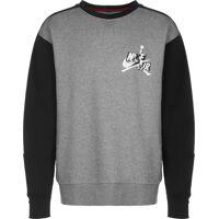 Jordan Jumpman Classic Fleece Crew, taille S, homme, gris chiné noir <br /><b>52.9 EUR</b> stylefile.fr