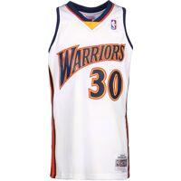 Mitchell & Ness Golden State Warriros Stephen Curry 30, taille S, homme, blanc bleu orange <br /><b>63.50 EUR</b> stylefile.fr