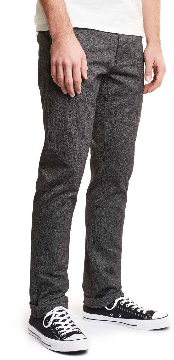 Brixton Reserve chino LTD, taille 28, homme, gris chiné