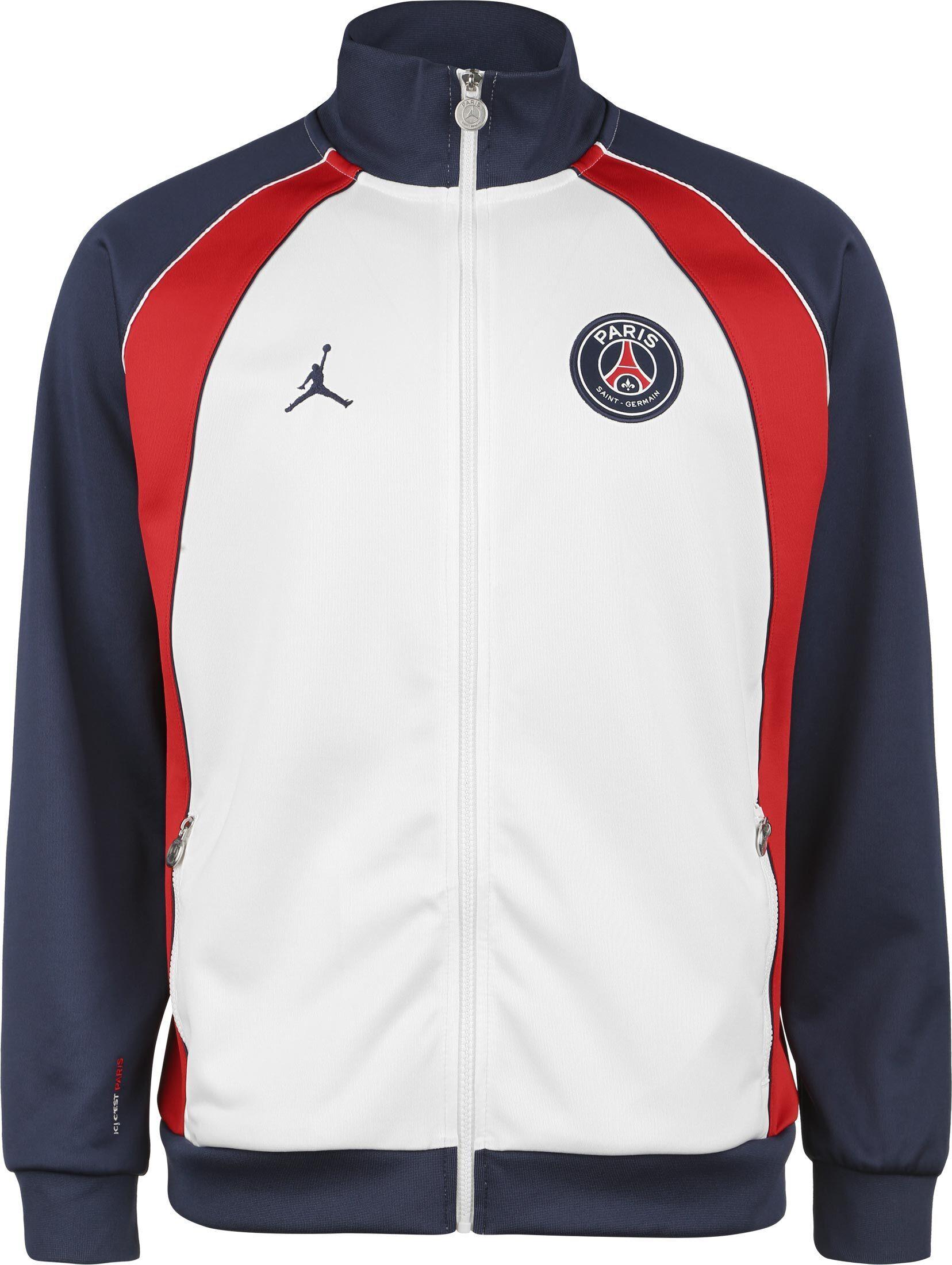 Jordan Paris Saint-Germain, taille M, homme, blanc bleu rouge