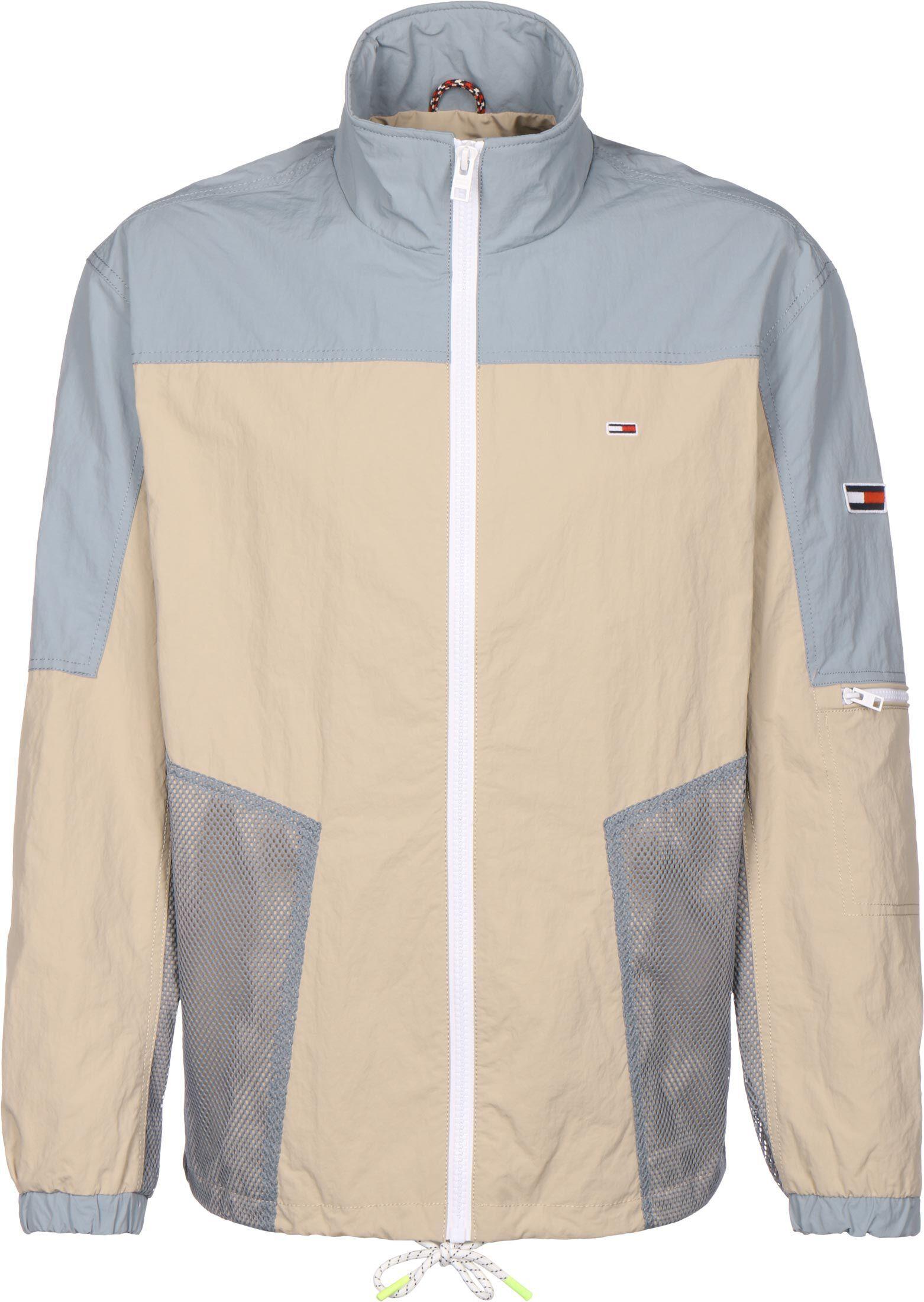 Tommy Jeans Mix Media Colorblock, taille XL, homme, beige bleu