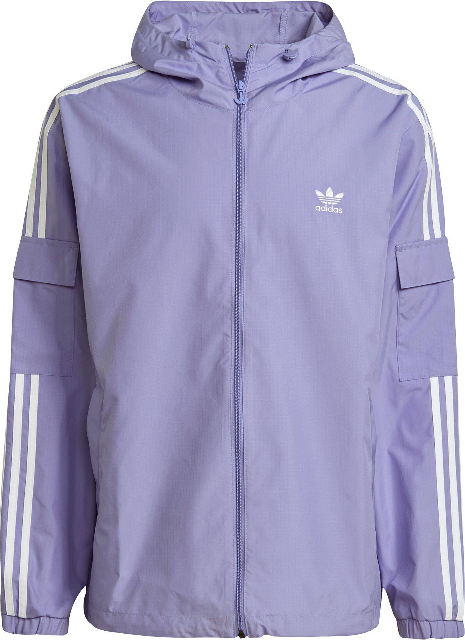 adidas Adicolor Classics 3-Stripes, taille S, homme, violet