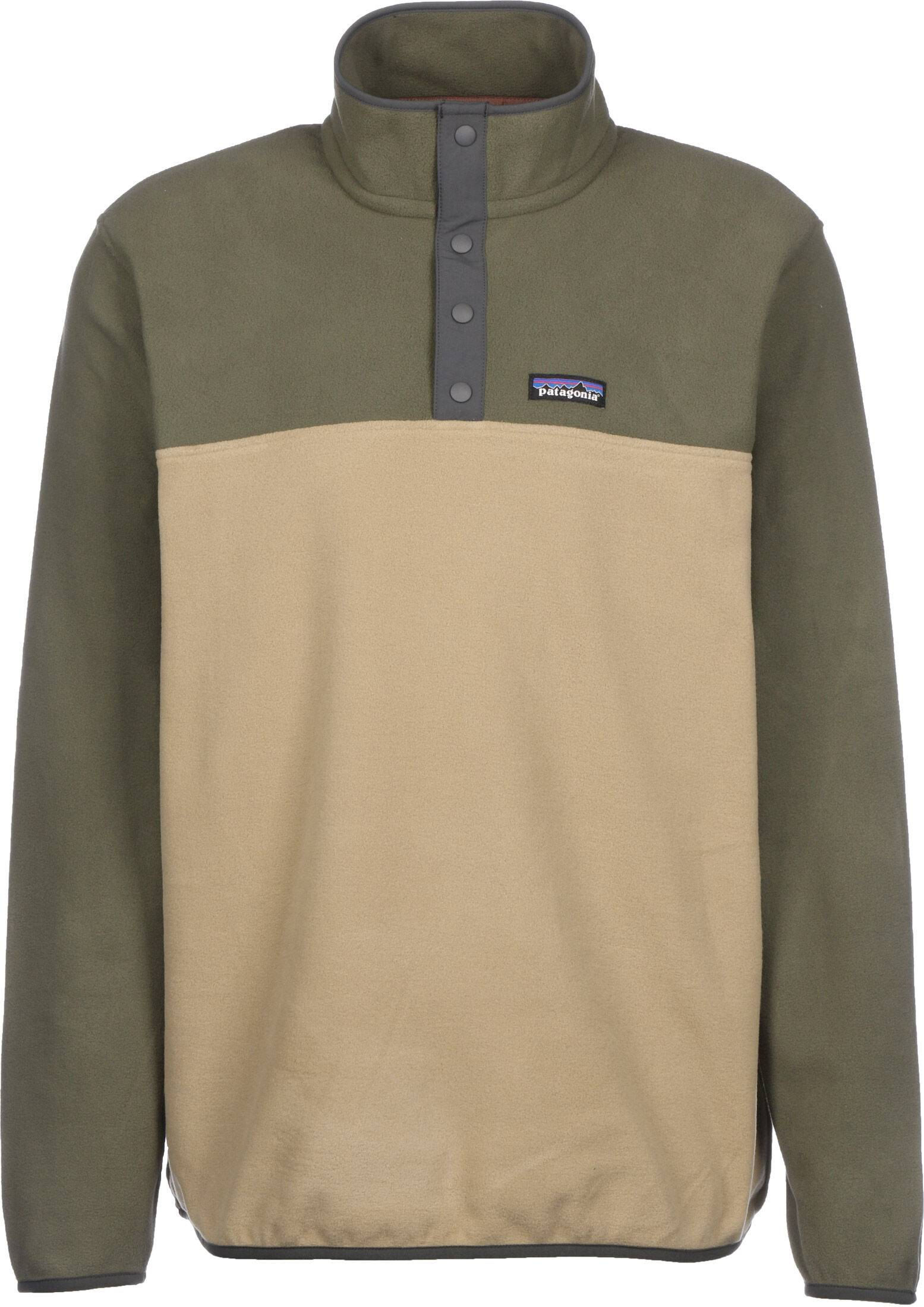 Patagonia Micro D Snap-T P/O, taille S, homme, beige olive