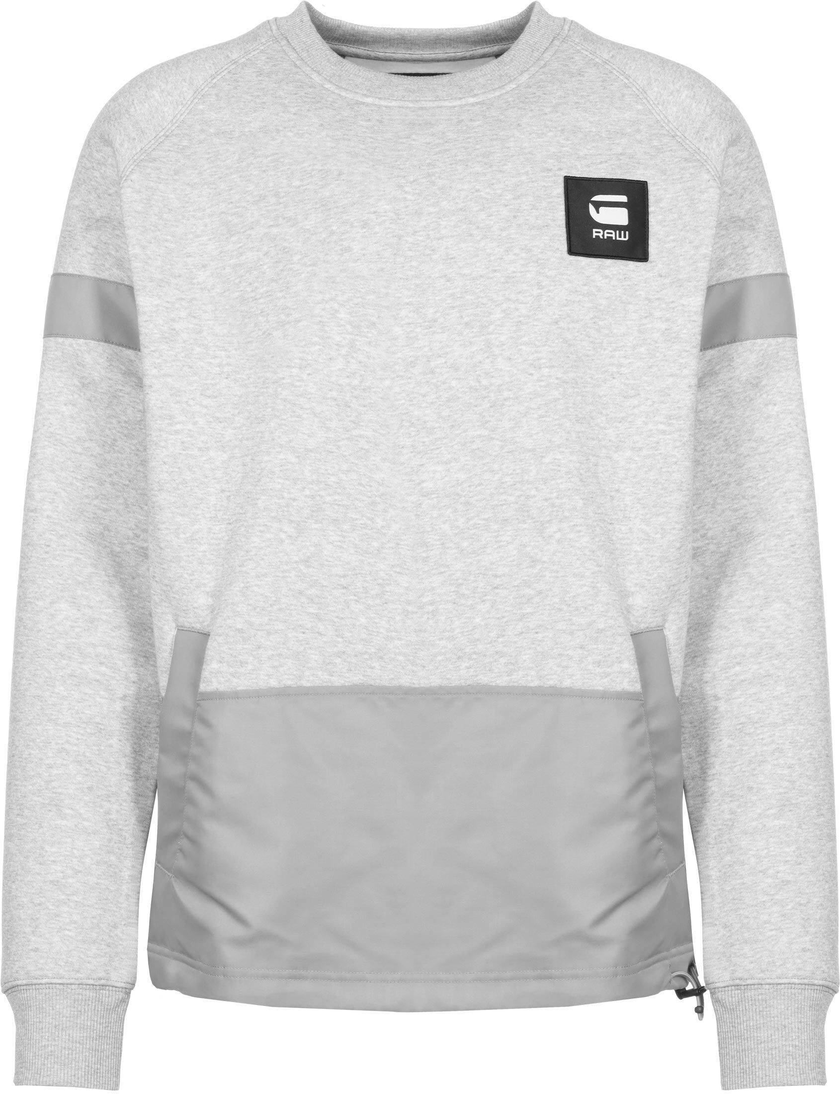 G-Star RAW G-Star Prisoner Mix, taille XL, homme, gris chiné