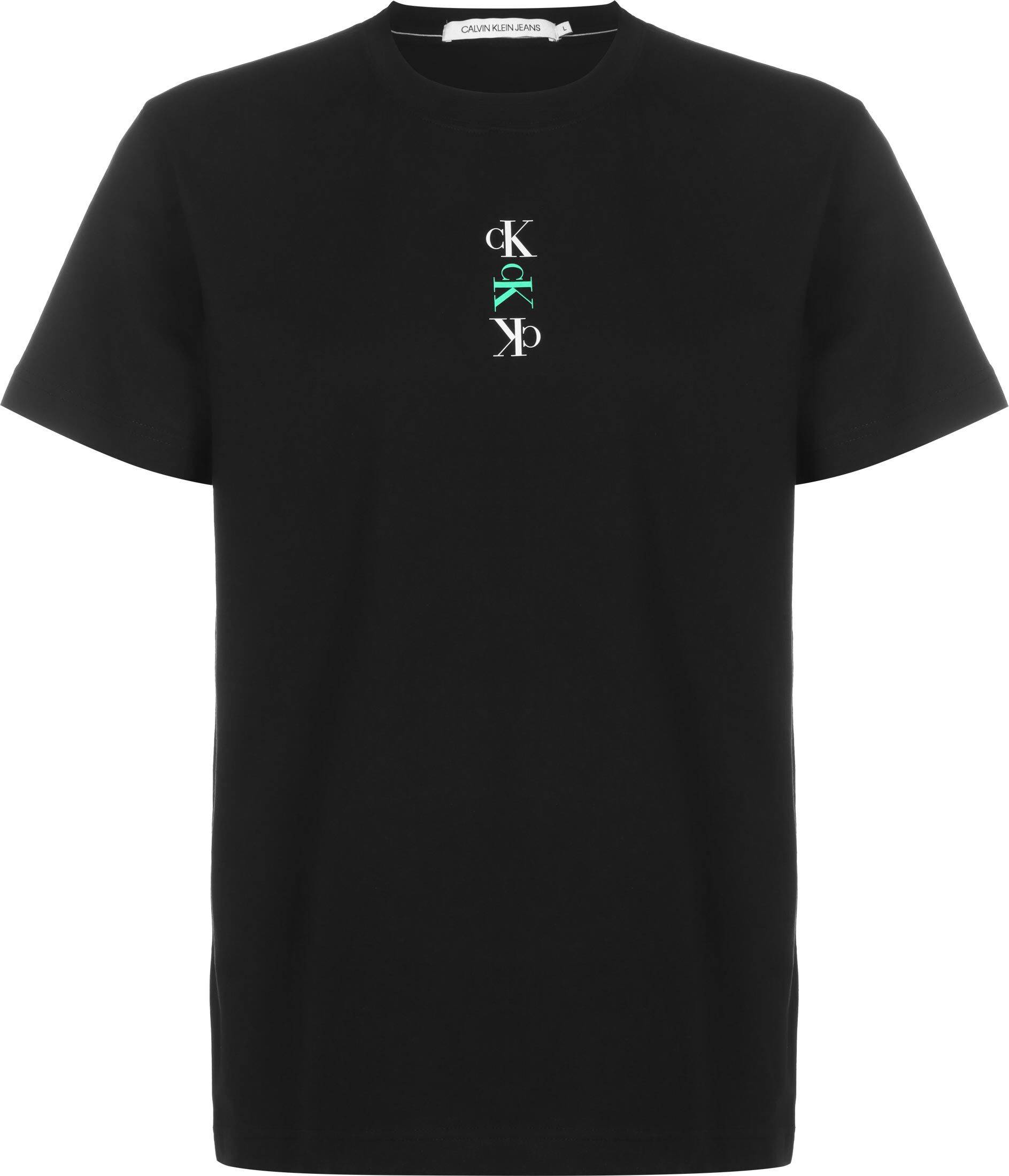 Calvin Klein Jeans Calvin Klein Repeat Graphic Text, taille L, homme, noir