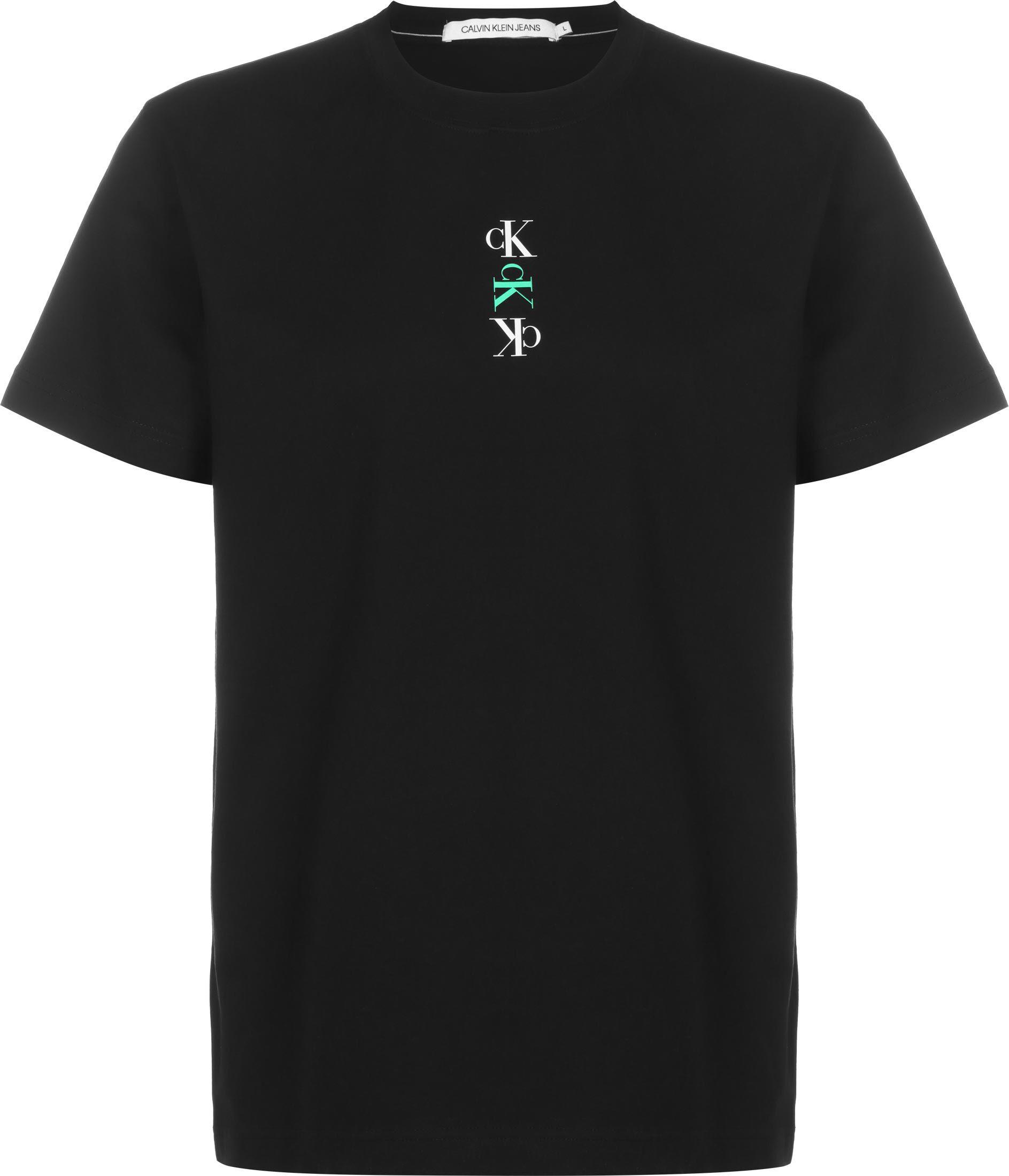Calvin Klein Jeans Calvin Klein Repeat Graphic Text, taille S, homme, noir