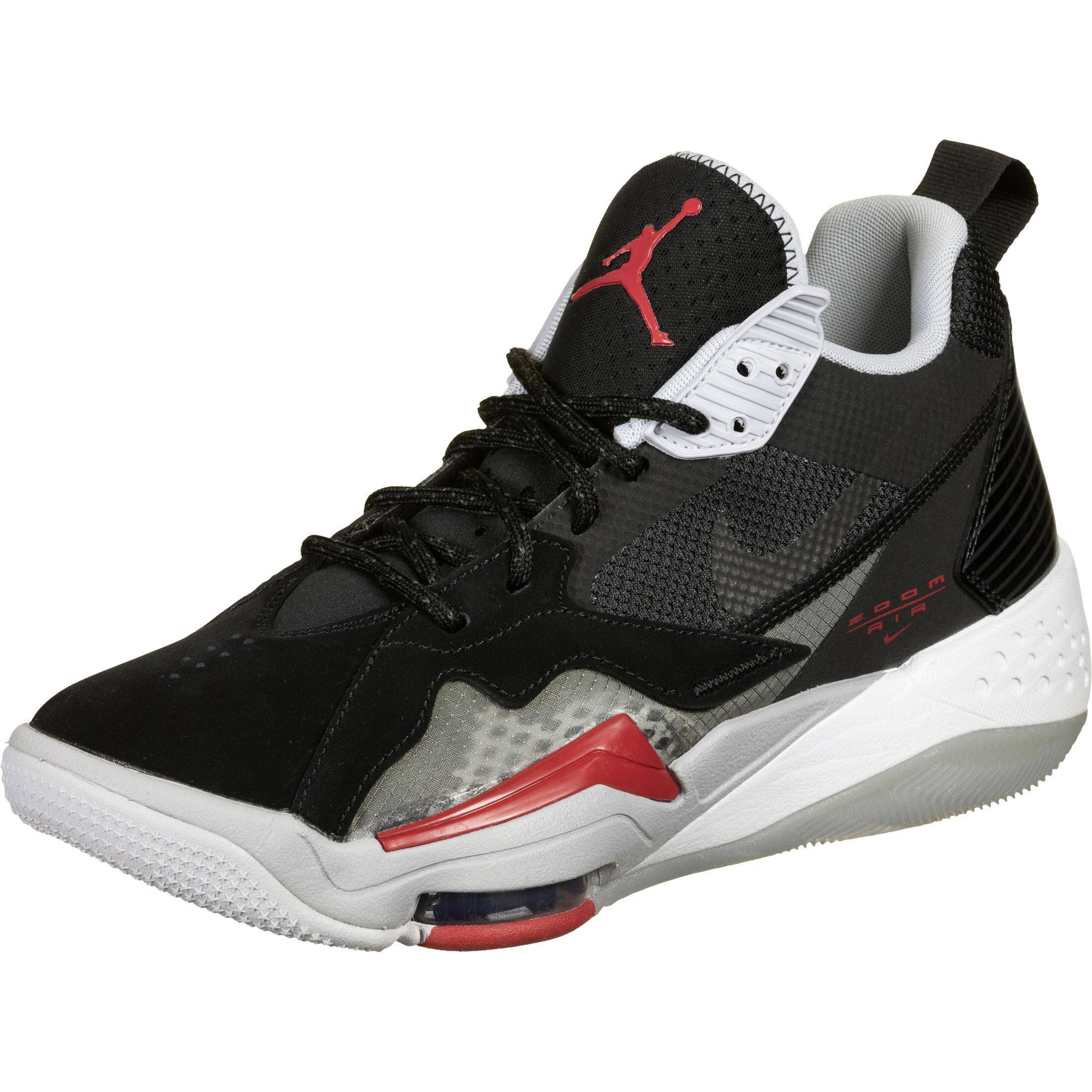 Jordan Zoom 92, 40 EU, homme, black/red/anthracite/sky grey