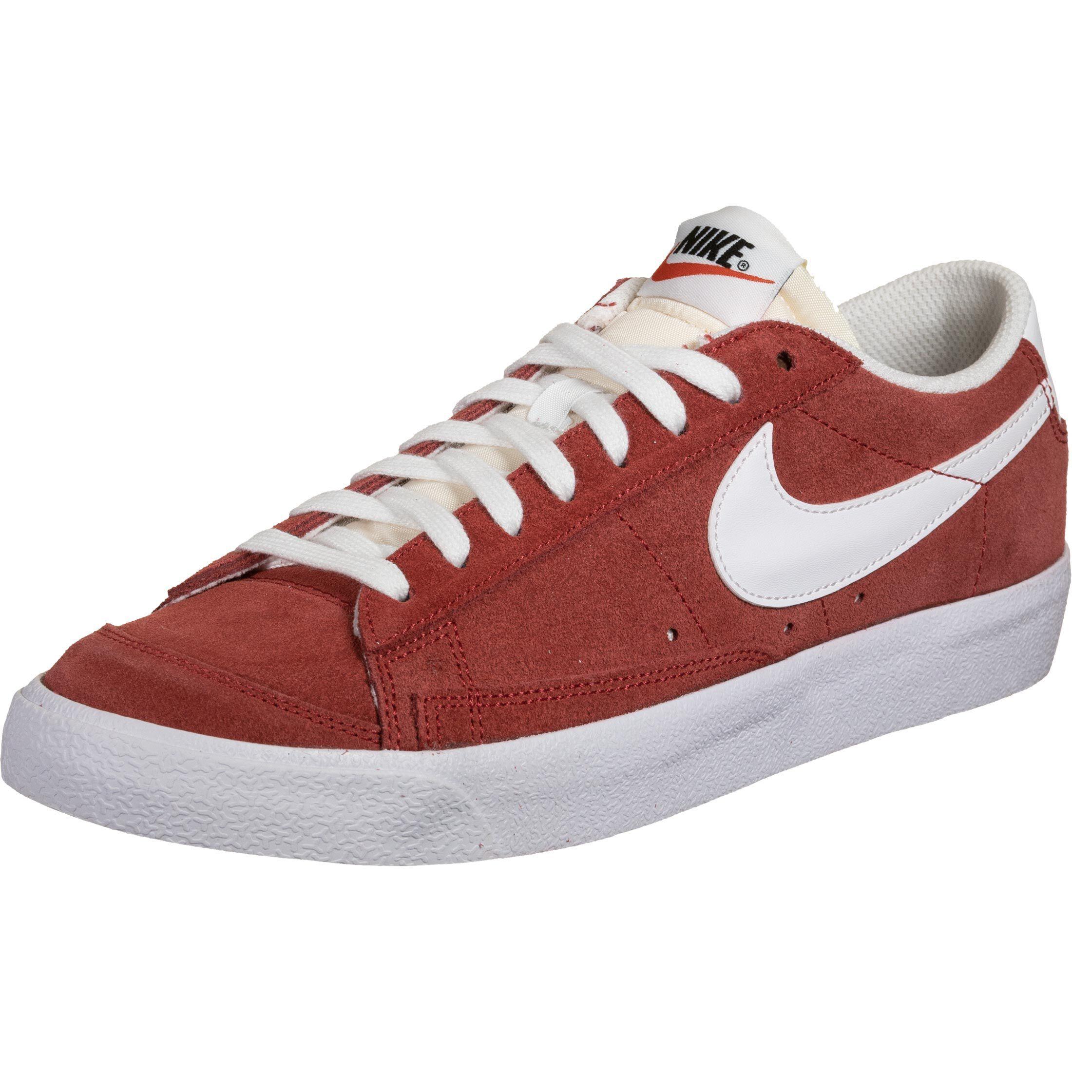 Nike Blazer Low 77, 41 EU, homme, rouge