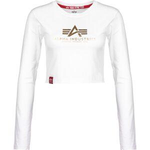 Alpha Industries Basic, taille M, femme, blanc - Publicité