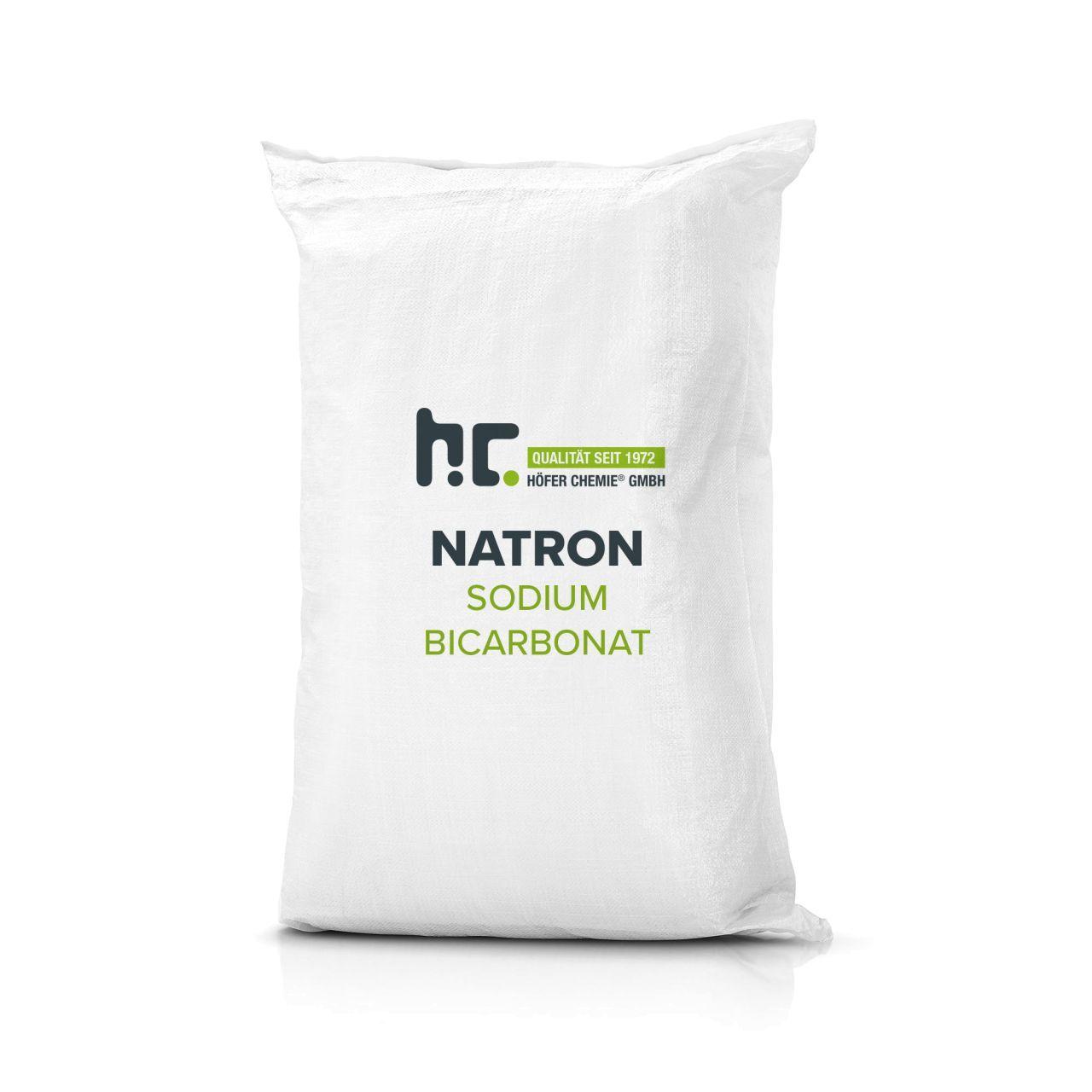 Höfer Chemie 100 kg de bicarbonate de sodium en qualité alimentaire (4 x 25 kg)