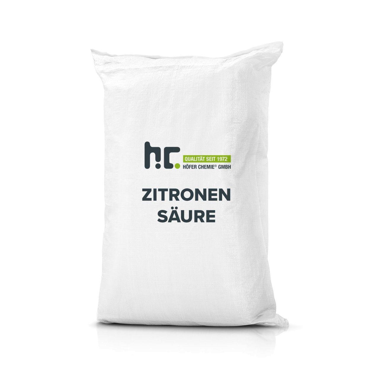 Höfer Chemie 50 kg Acide citrique (2 x 25 kg)