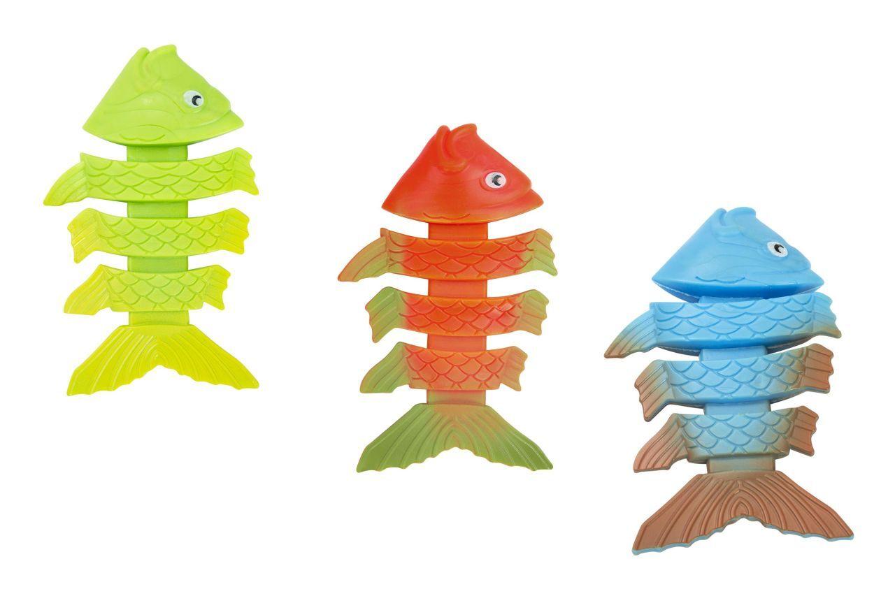 Höfer Chemie Jouet de plongée avec de drôles de motifs animaliers pour les enfants (poisson)