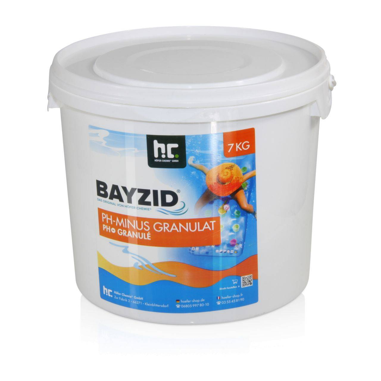 BAYZID 28 kg Bayzid® pH moins granulé (4 x 7 kg)