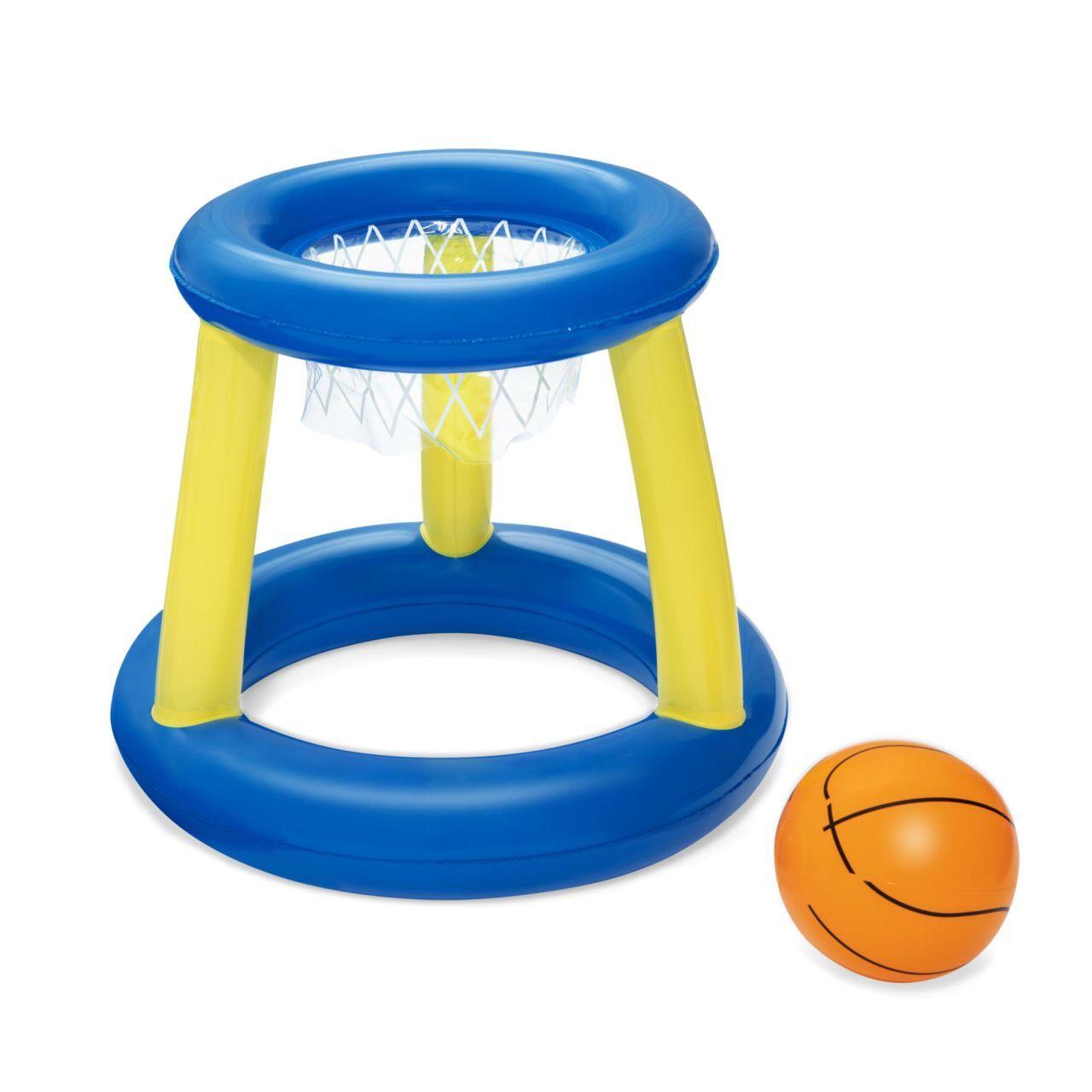 Höfer Chemie Panier de basket-ball pour piscine - jeu de lancer flottant (sans anneaux)