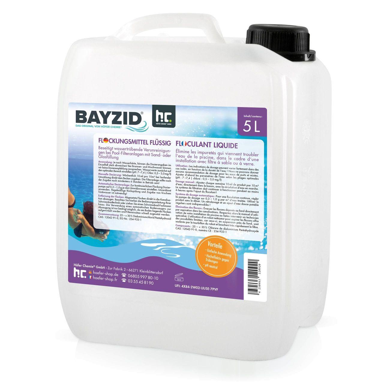 BAYZID 10 l BAYZID® Floculant liquide (2 x 5 l)
