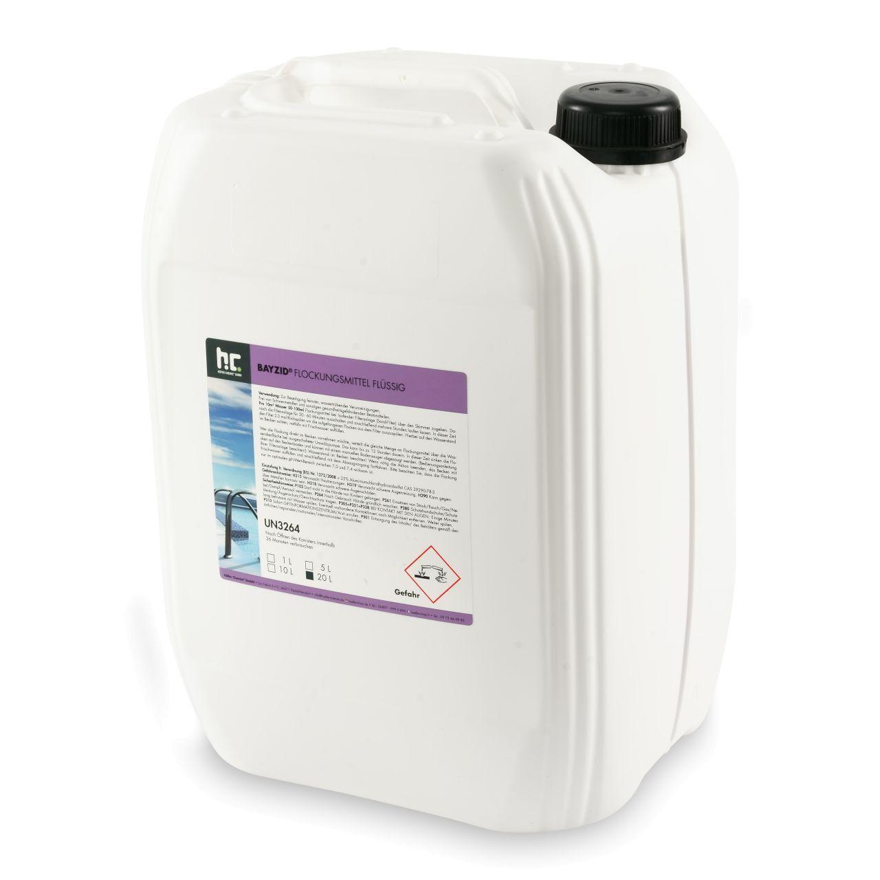 BAYZID 40 l Bayzid® Floculant liquide (2 x 20 l)