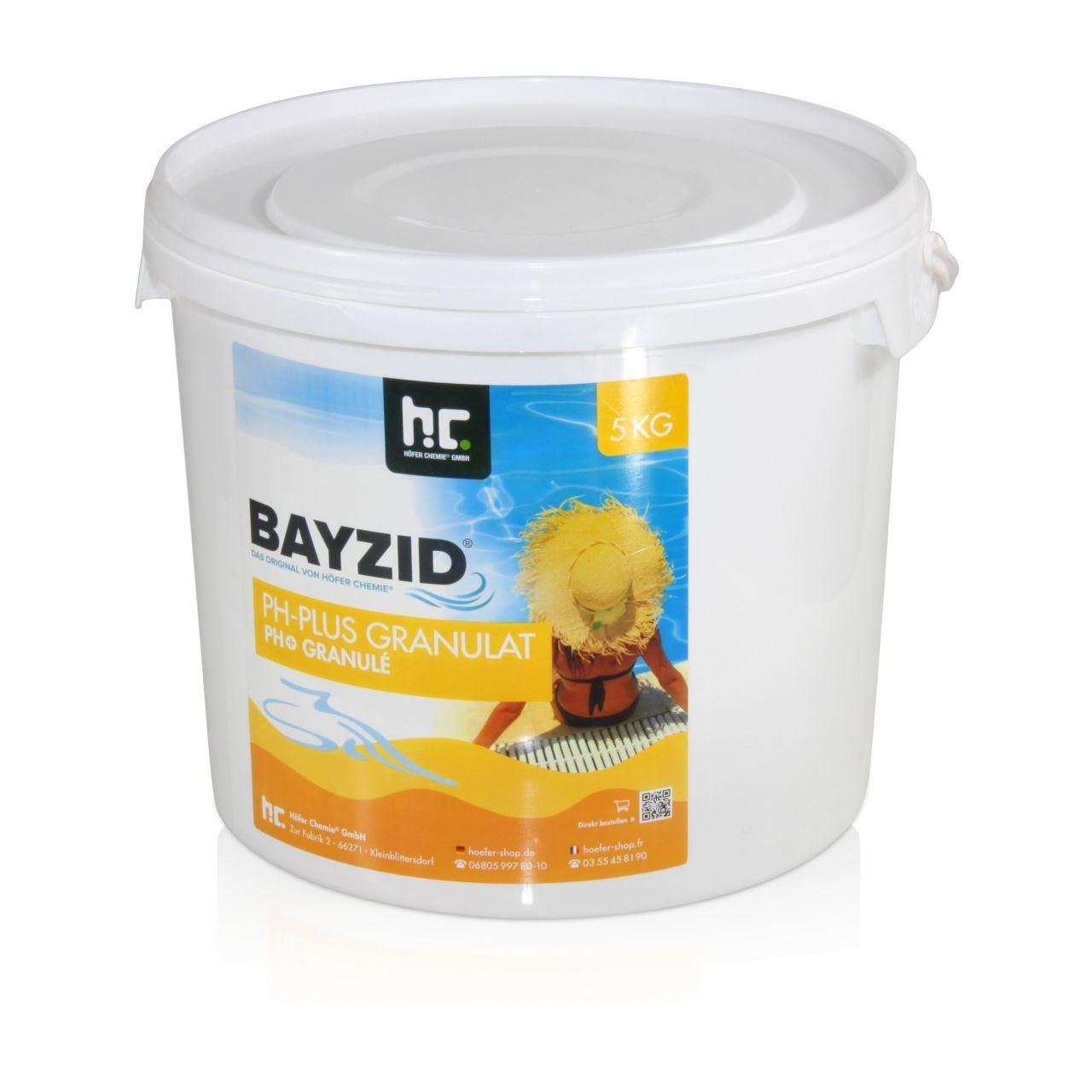 BAYZID 5 kg Bayzid® pH plus granulé (1 x 5 kg)