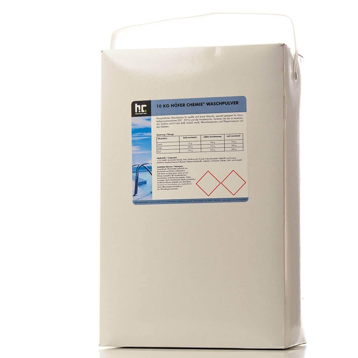 Höfer Chemie 30 kg Lessive en poudre (3 x 10 kg)