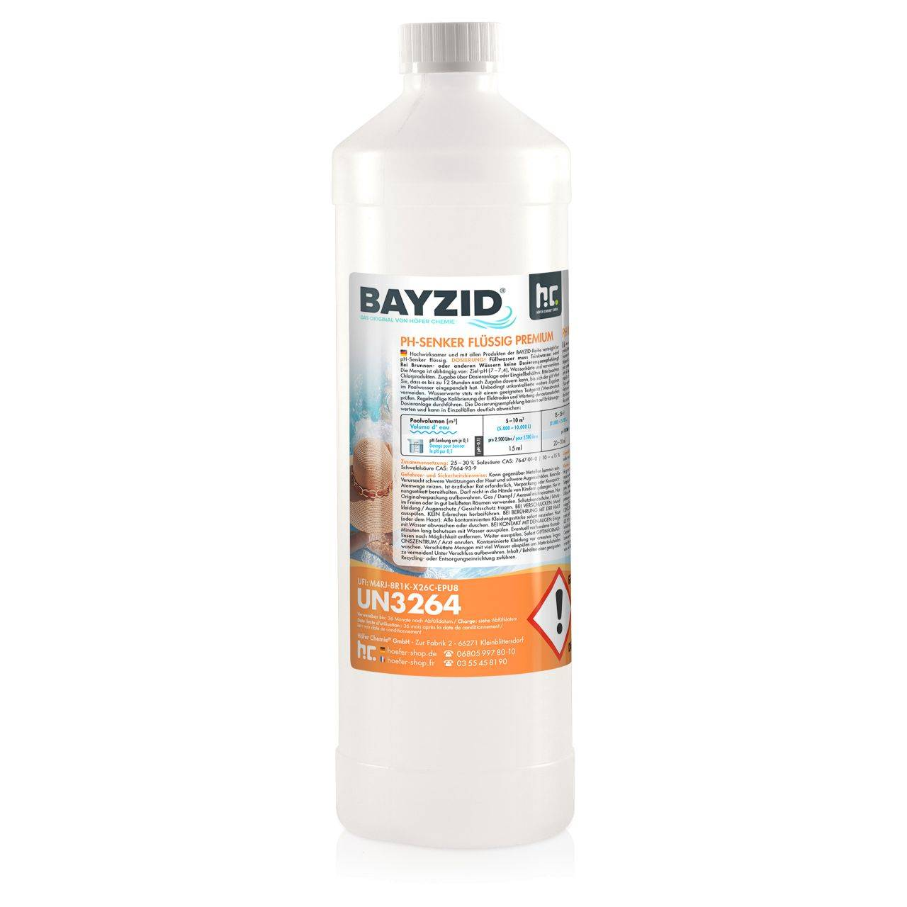 BAYZID 1 kg Bayzid® pH moins liquide (1 x 1 kg)
