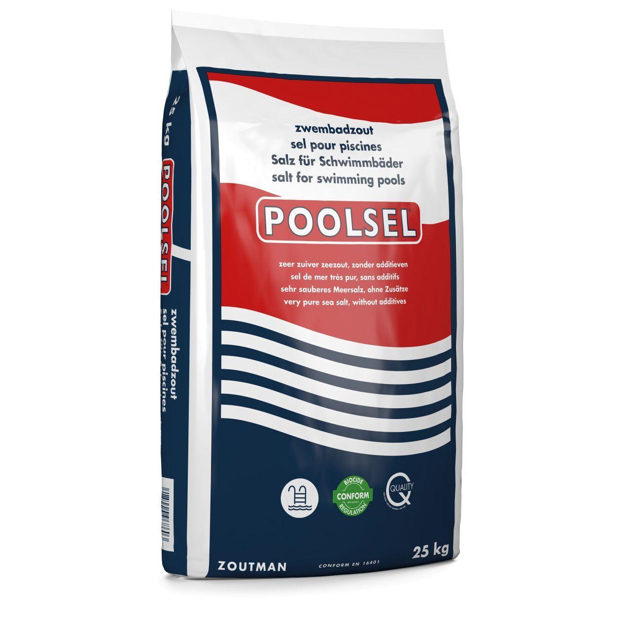 Höfer Chemie Sel de mer pour électrolyse au sel 25 kg Poolsel®