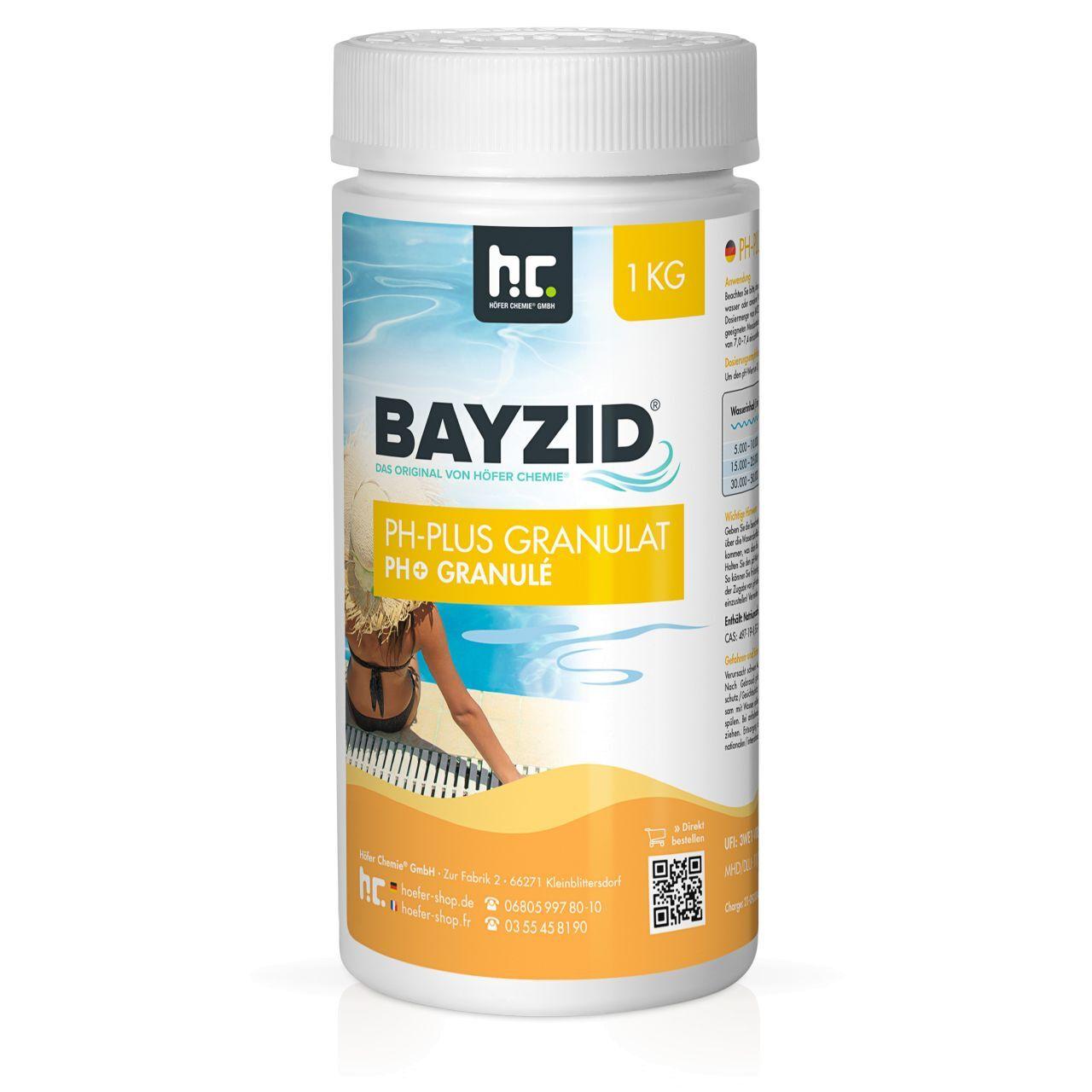 BAYZID 6 kg Bayzid® pH plus granulé (6 x 1 kg)
