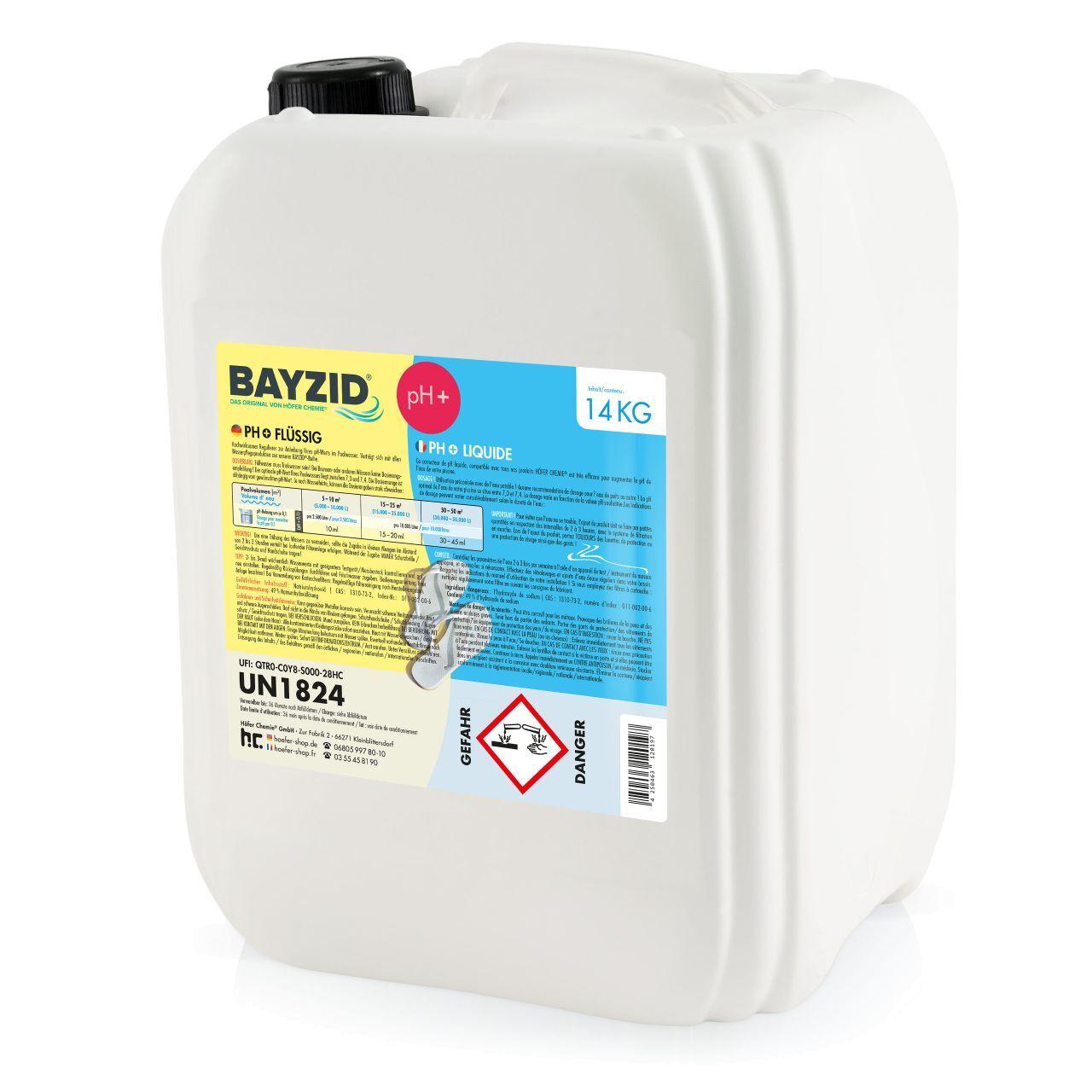 BAYZID 56 kg Bayzid® pH plus liquide (4 x 14 kg)