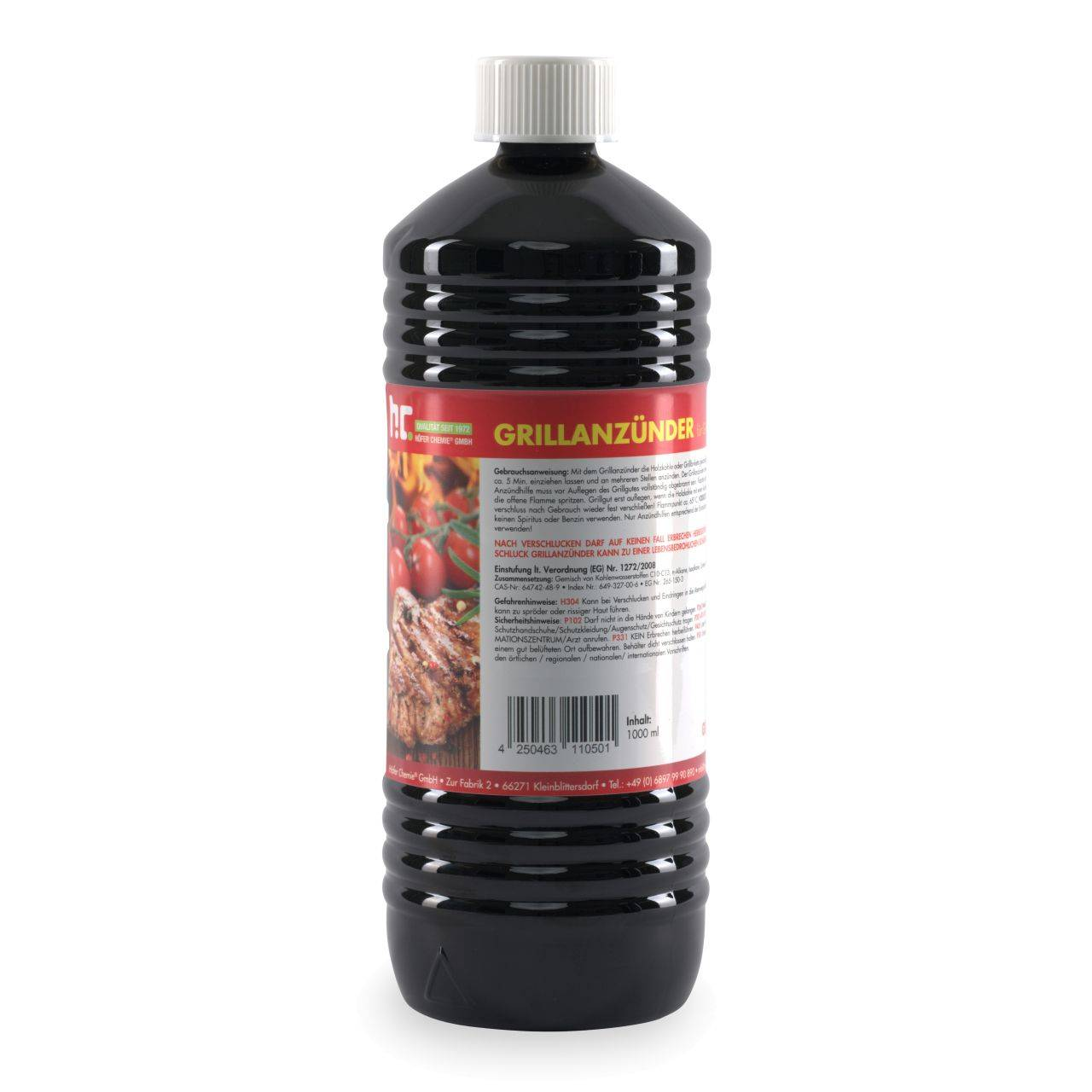 Höfer Chemie 30 l Allume-feu liquide pour barbecue (30 x 1 l)