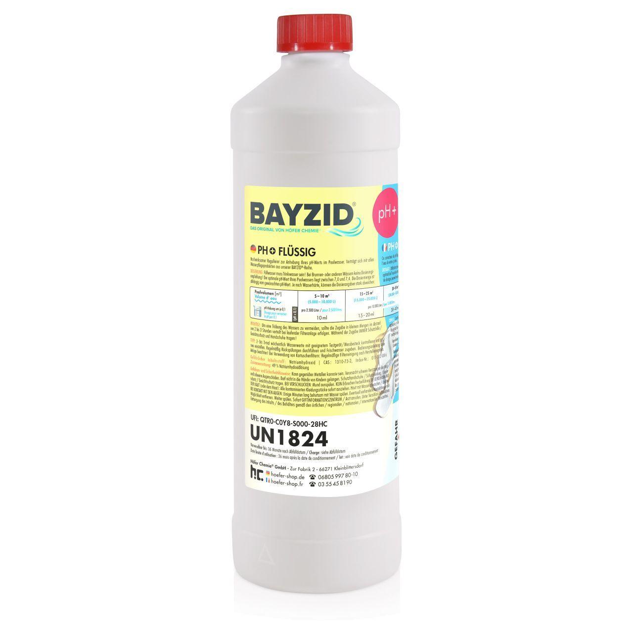 BAYZID 6 kg Bayzid® pH plus liquide (6 x 1 kg)