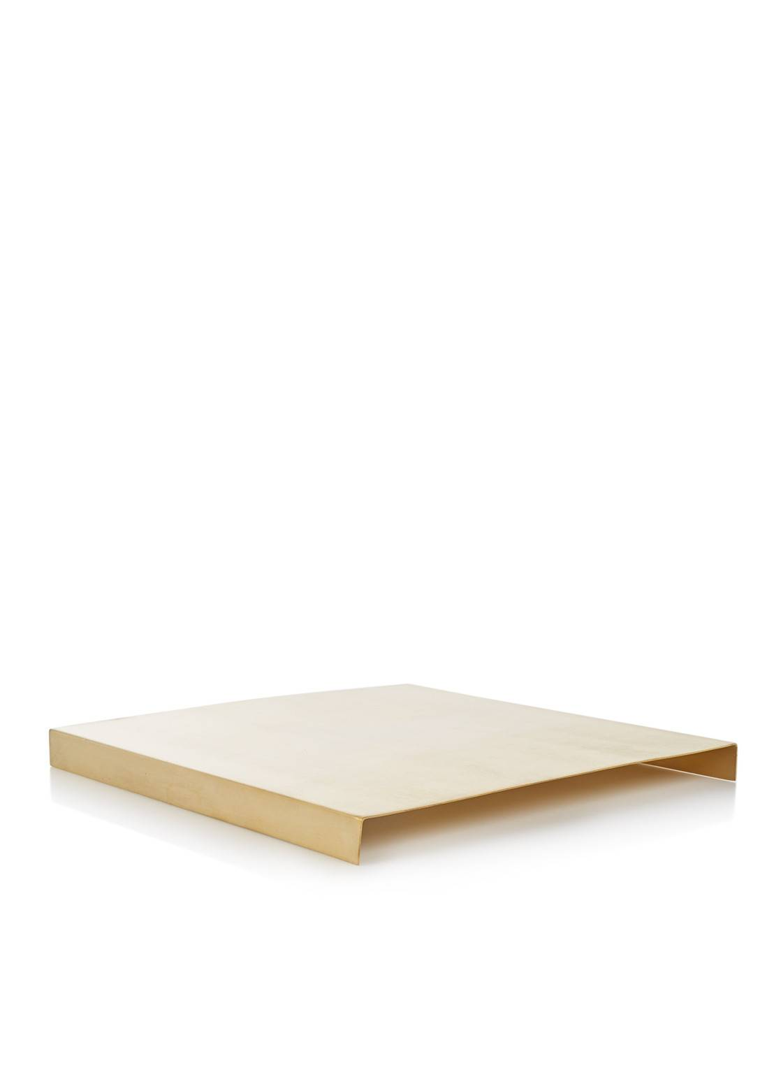 ferm living Tray Box extension pot de fleurs en laiton 26 cm - Or