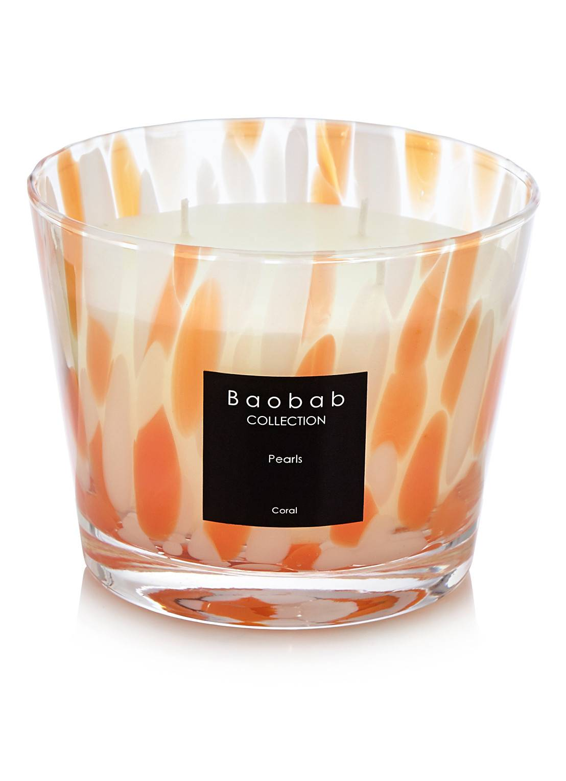 baobab collection Bougie parfumée Coral Pearls - Orange