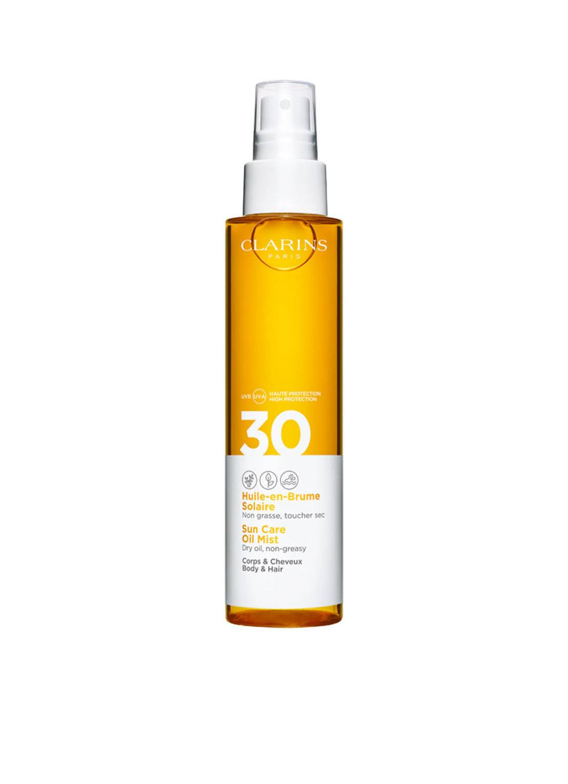 Clarins Solaire Oil Mist SPF 30 Body & Hair - huile solaire -
