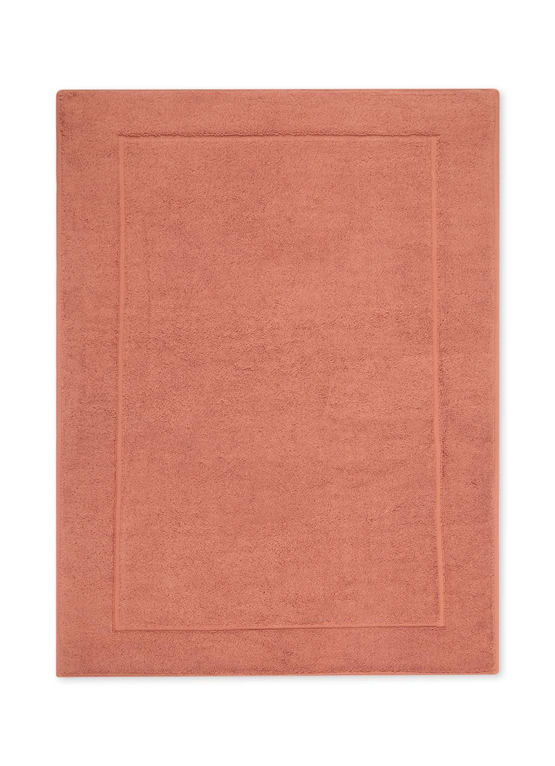 aquanova Tapis de bain en coton égyptien LONDON - Rose saumon