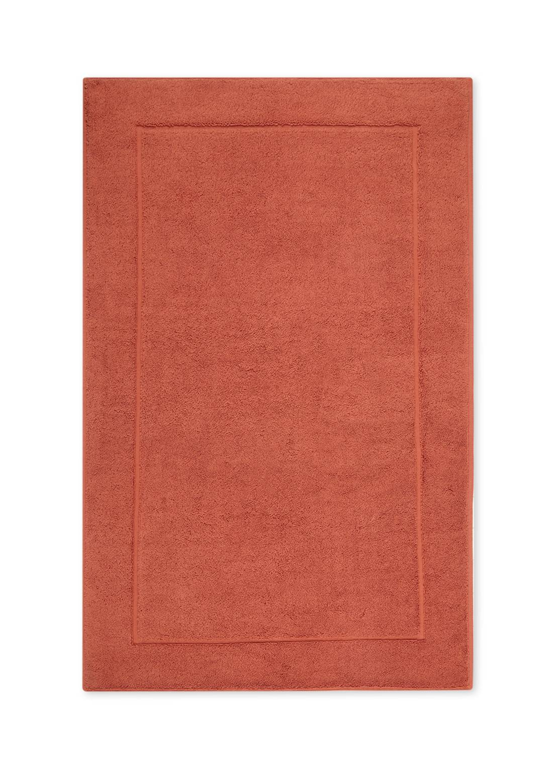 aquanova Tapis de bain en coton égyptien LONDON - Orange foncé