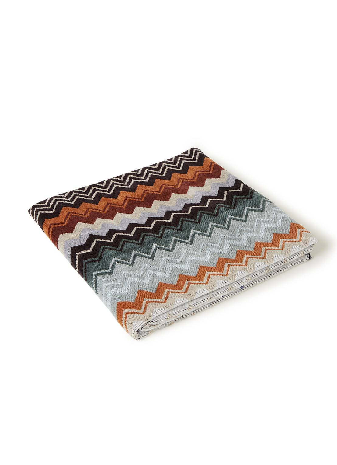 missoni home Serviette de douche Giacomo 70 x 140 cm - Orange