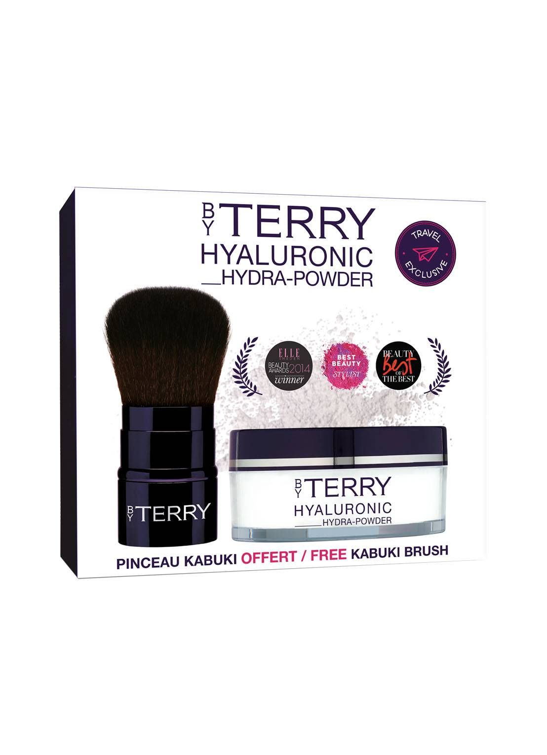 by terry Hyaluronic Hydra-Powder & Tool-Expert Kabuki - poudre -