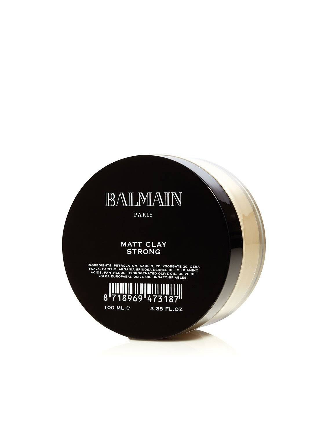 balmain paris hair couture Matt Clay Strong - coiffure -