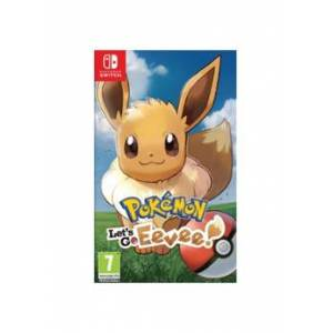 Nintendo Jeu Pokémon Let's Go Eevee - Nintendo Switch - Publicité